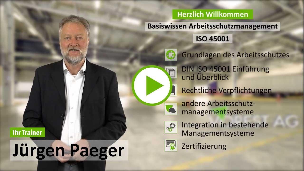 Ausbildung ISO 45001