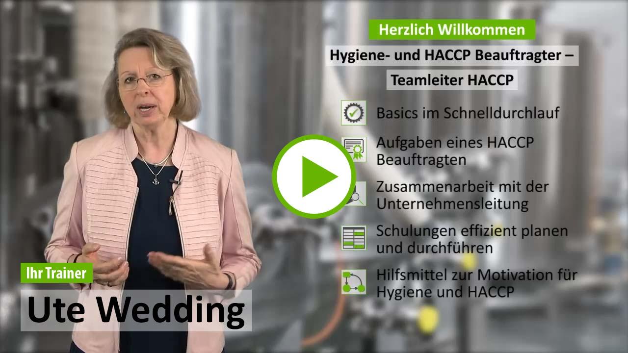 Ausbildung HACCP